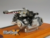 CMC 1:18 Mercedes-Benz 300SLR Engine