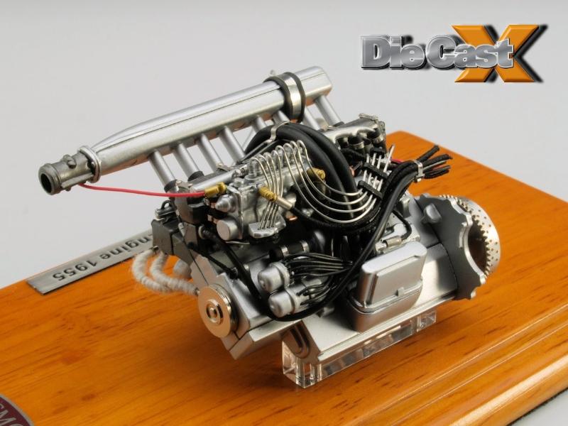 Cmc 118 Mercedes Benz 300 Slr Engine Otto Power Die Cast X