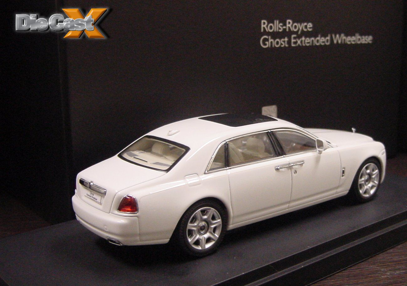 ghost hunting kyosho announces 1 43 rolls royce ghost extended wheelbase cars die cast x. Black Bedroom Furniture Sets. Home Design Ideas