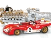 GMP Ferrari 312 and V-12 Engine 1:18 scale