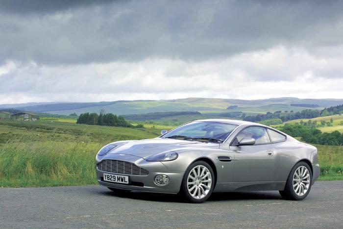 2002 Aston Martin V12 Vanquish