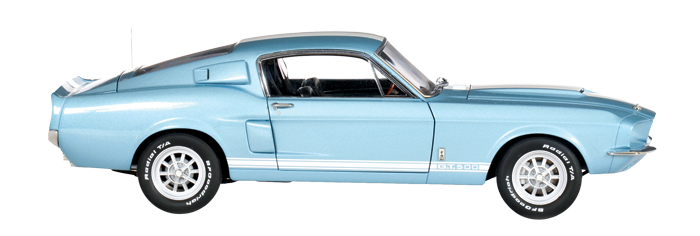 AutoArt 1:18 1967 Ford Shelby GT500 mustang