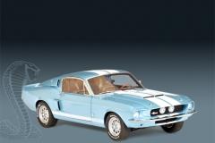 AUTOart 1967 Mustang Shelby GT500