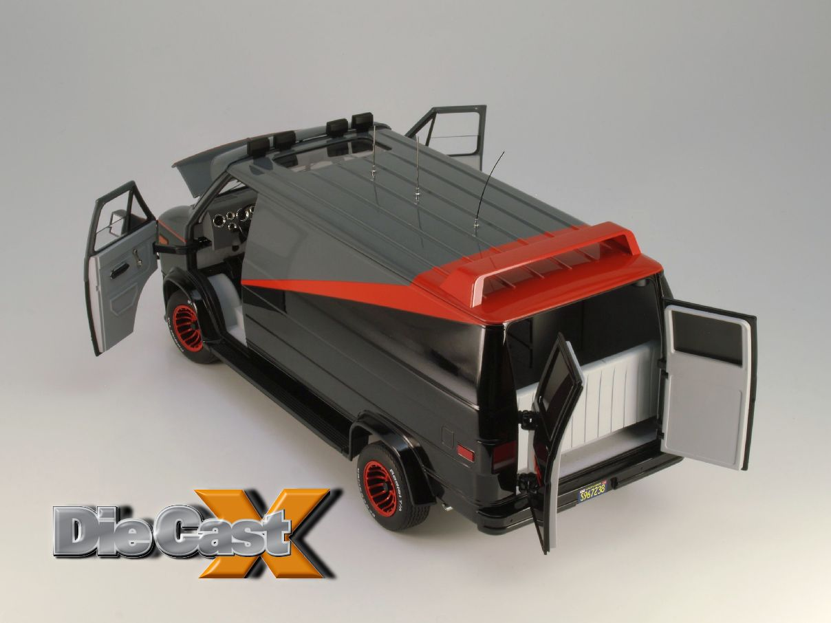 First Look Hot Wheels Elite 1 18 Quot A Team Quot Van Die Cast X