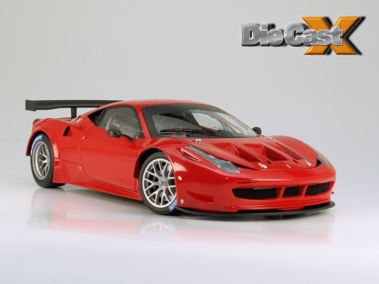 first look hot wheels elite 1 18 ferrari 458 italia gt2 launch version. Black Bedroom Furniture Sets. Home Design Ideas