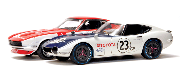 Kyosho Datsun 240Z BRE Racer 1:18 scale