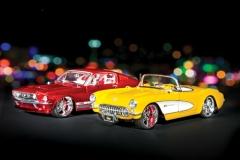 Maisto \'69 Mustang and \'57 Corvette