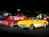 Maisto '69 Mustang and '57 Corvette 1:18 scale