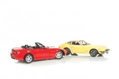 Maisto Honda S2000 and Datsun 240Z