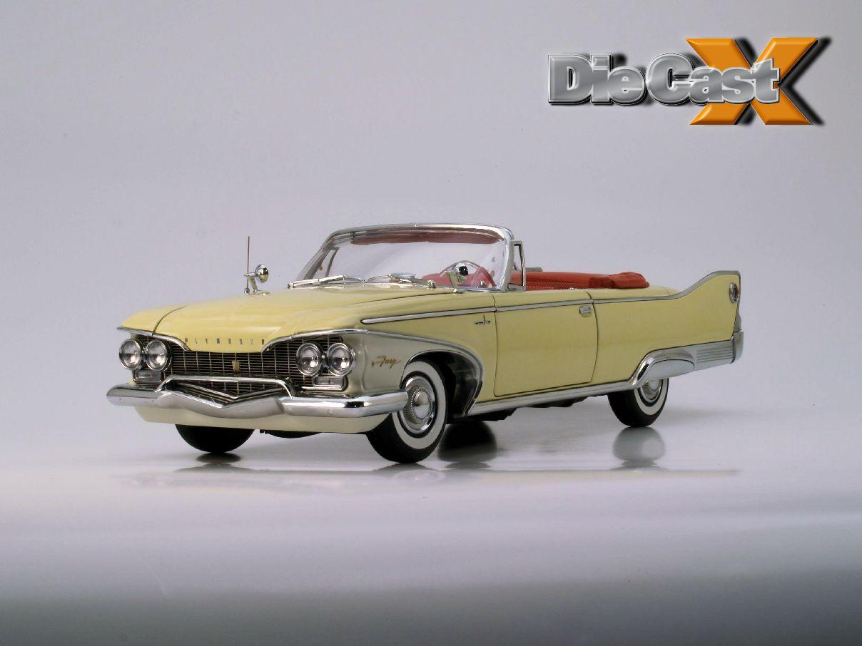 Sunstar 1:18 1960 Plymouth Fury