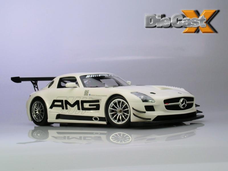 Minichamps 1:18 Mercedes SLS GT3