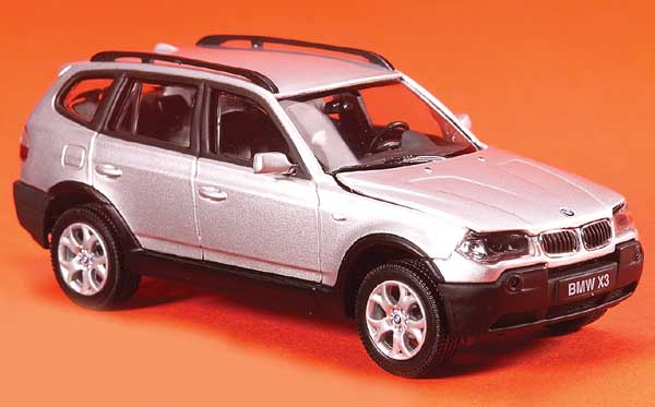 Model Bmw X3 Scale 1 43 Categories European Modern Price 65 Notes The Ultimate Driving Machine Goes Off Road With This Cute Suv
