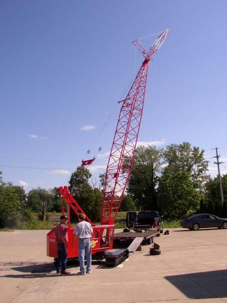 Giant Scale Crane