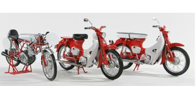Sneak Peek: Ebbro Honda Supercubs