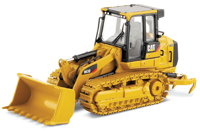 Norscot's First Track Loader: Cat 963D