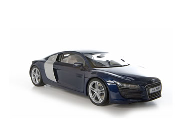 Audi's A-list Sportscar from Kyosho