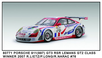 Porsche 911 GT3 Le Mans Winner from AUTOart