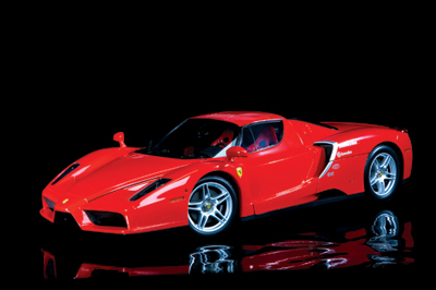 Testing the limits of Ferrari's Enzo
