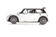 Kyosho White Mini Cooper