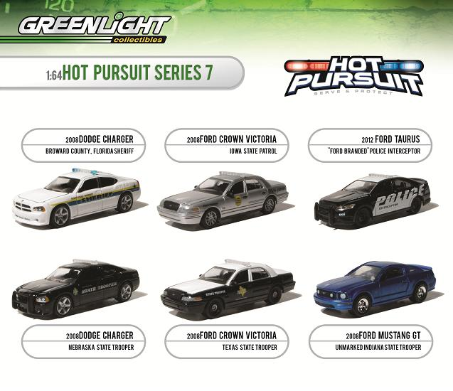 GreenLight 1:64 Hot Pursuit Series 7