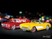 Maisto '69 Mustang and '57 Corvette