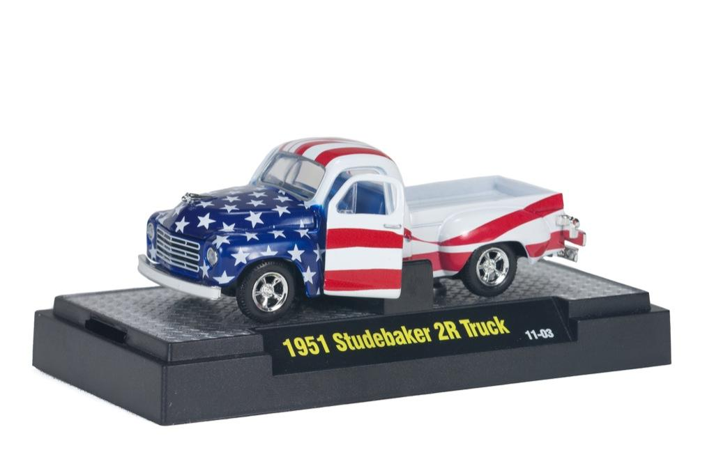 M2 Machines Auto-Dreams Patriotic 1