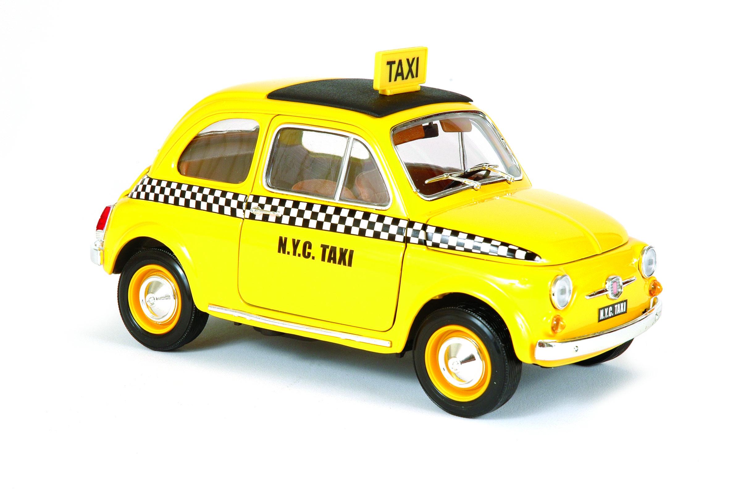 BBURAGO Fiat 500 Taxi