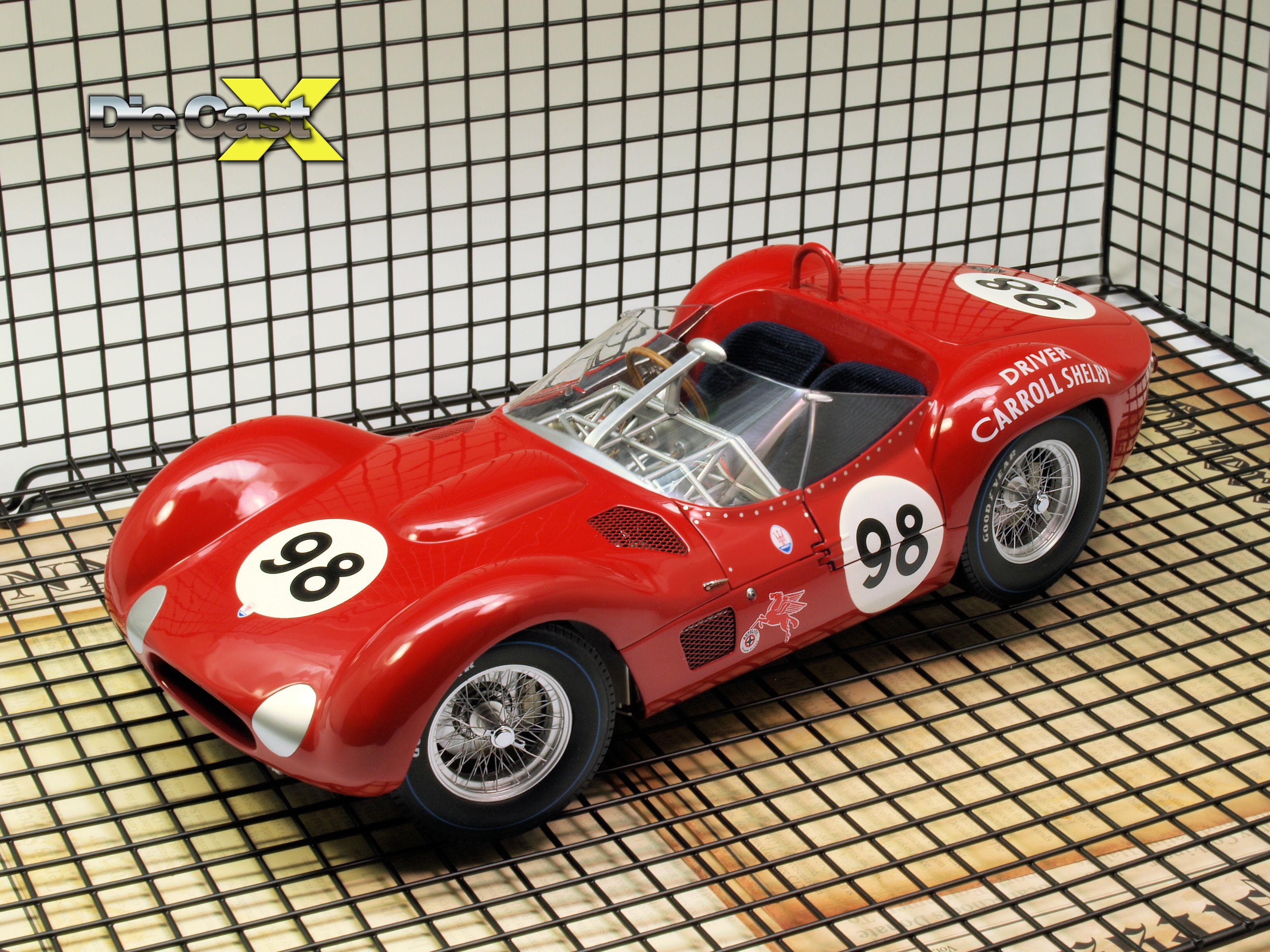 """Minichamps 1:12 Maserati Type 61 Birdcage """"Shelby"""""""
