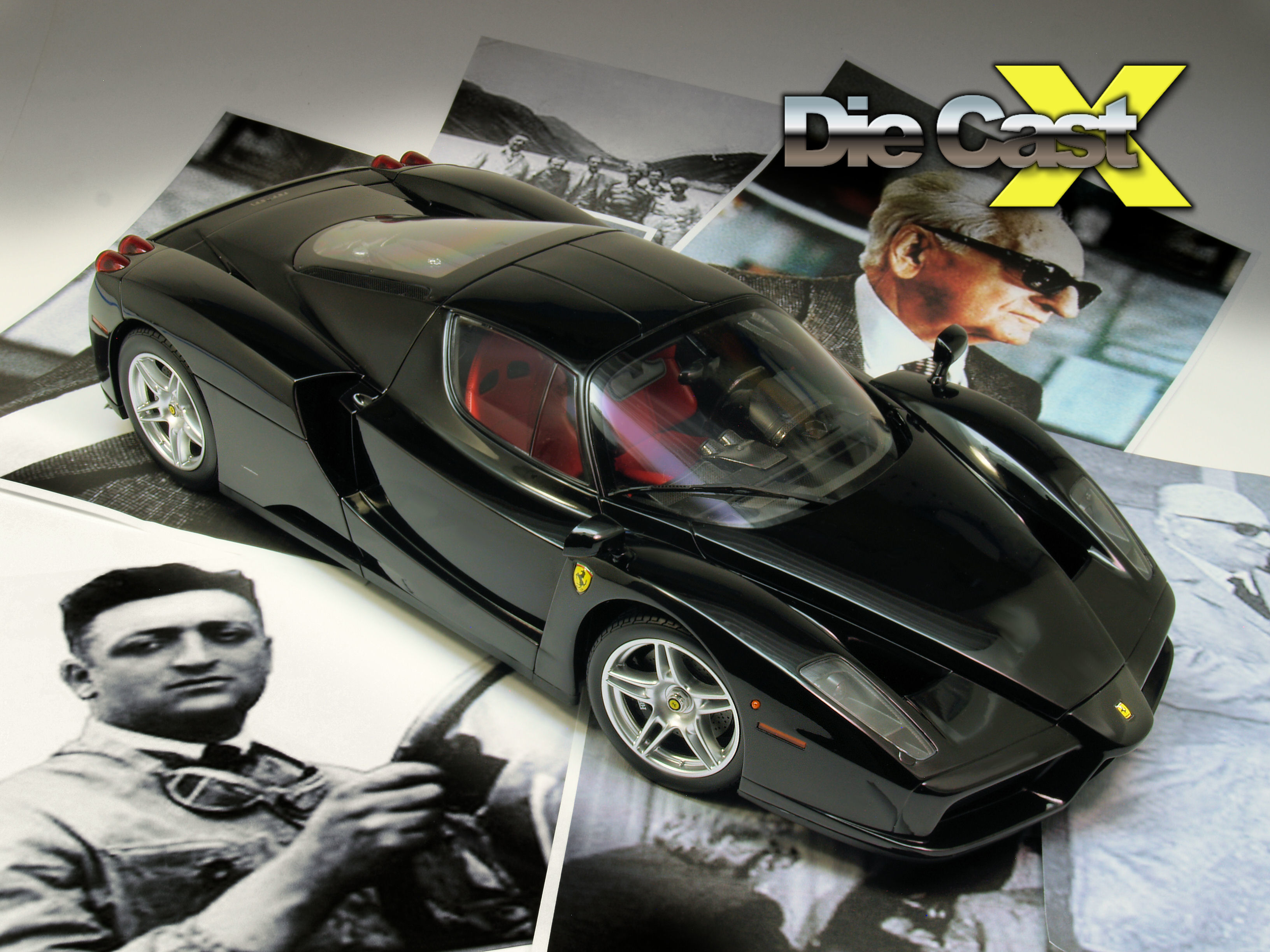 Kyosho 1:12 Ferrari: Mondo Enzo