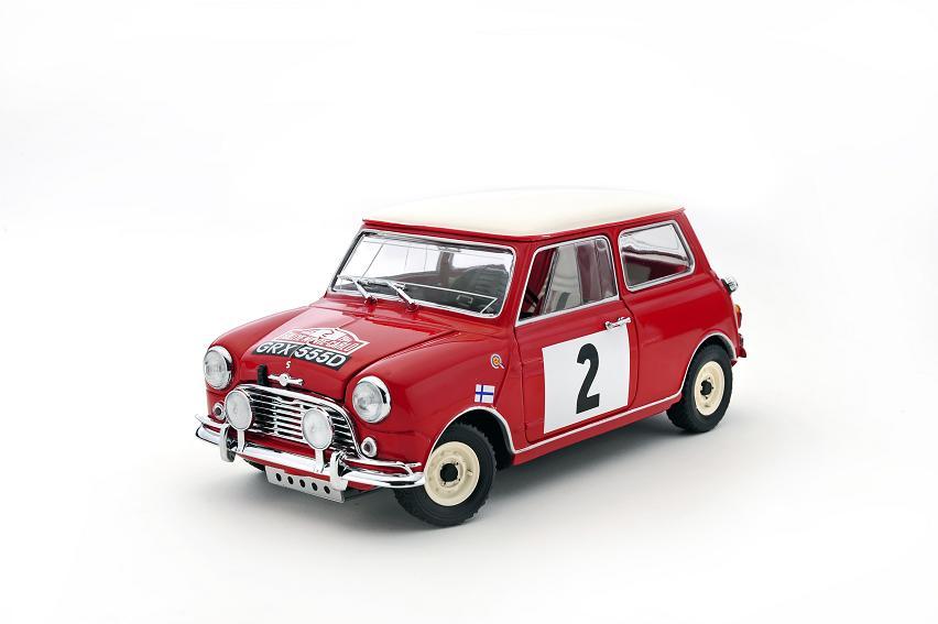 Kyosho Mini Cooper S Rally Monte Carlo
