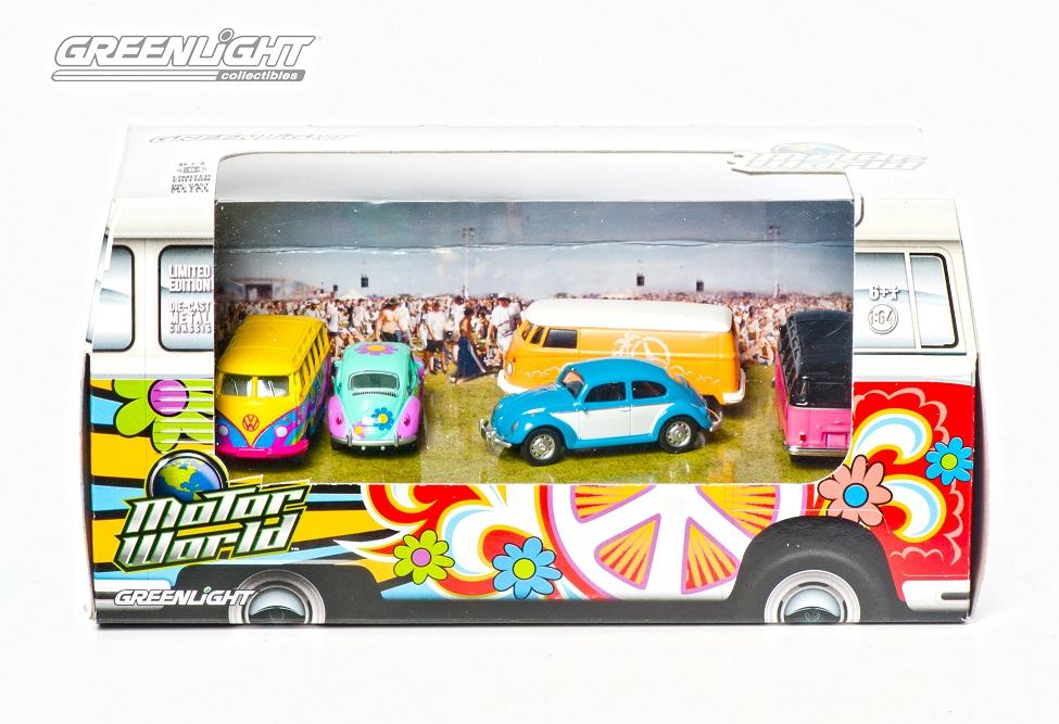 Motor World VW Hippie 5-Pack