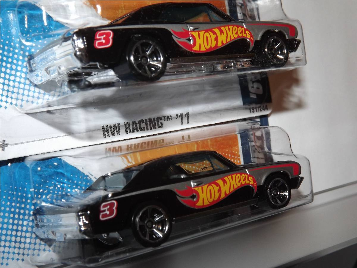Hot Wheels `67 Chevelle Tampo Variation