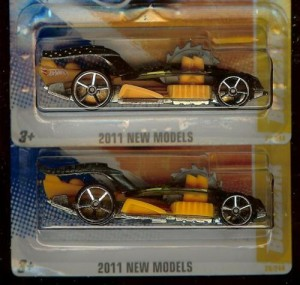 2011 Hot Wheels Buzzerk Variation
