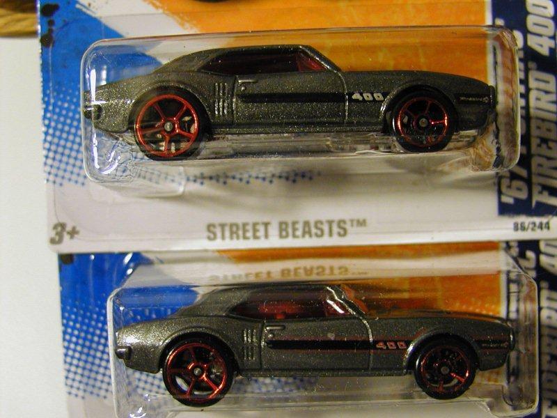 Hot Wheels Street Beasts `67 Firebird Variation