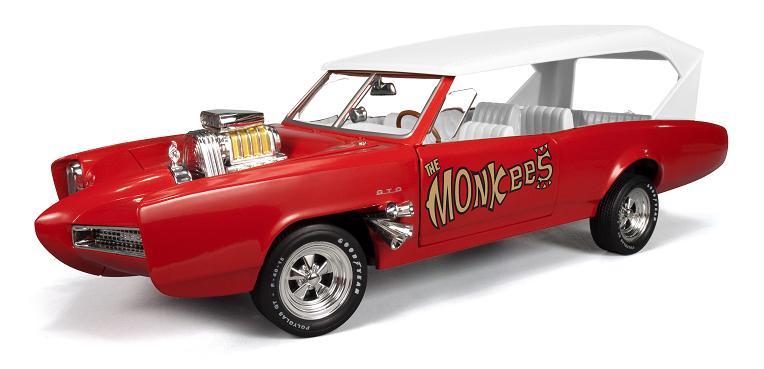 Auto World Silver Screen Machines General Lee, Mach 5 & Monkeemobile