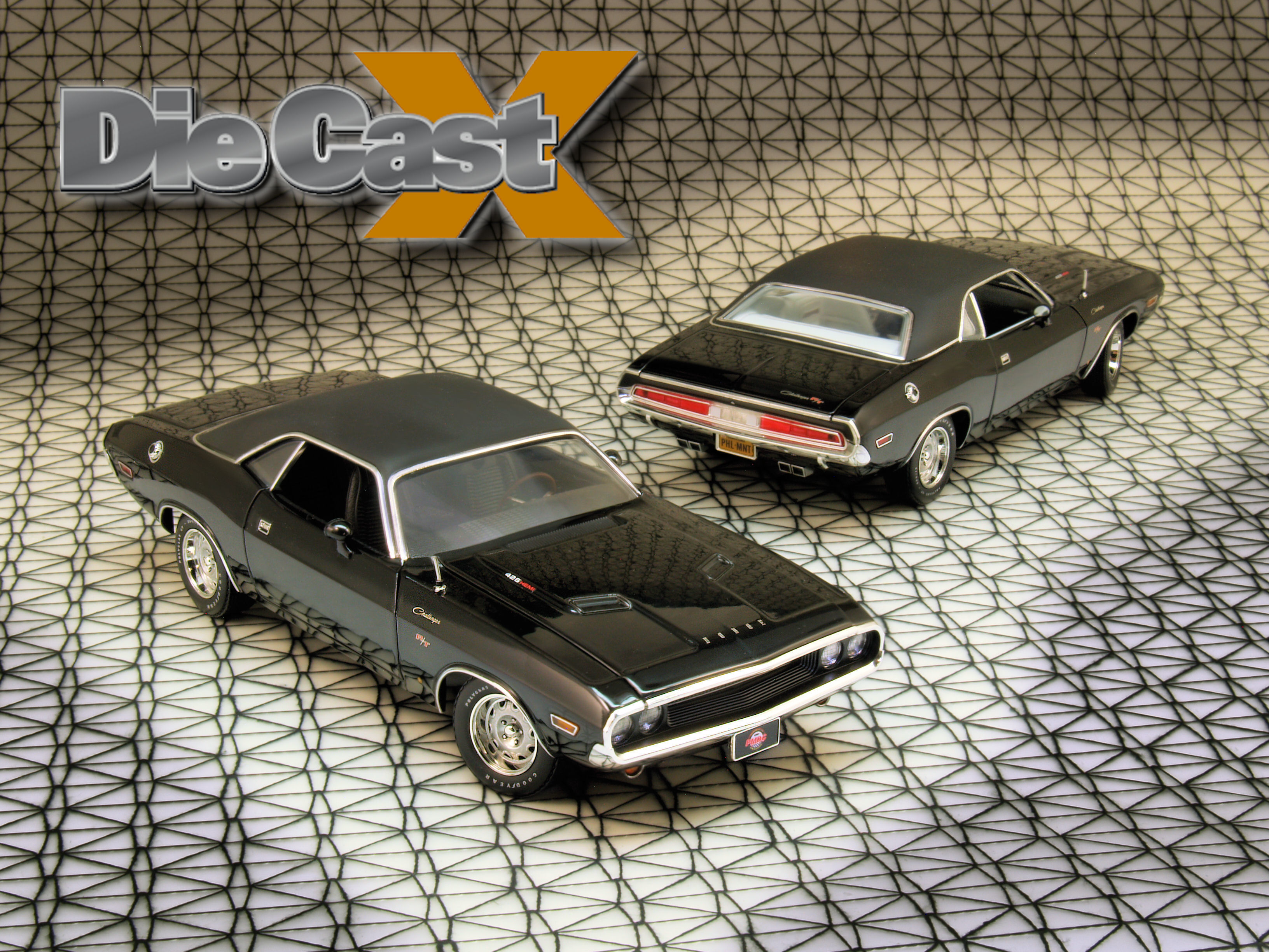PhillyMint 1:24 1970 Hemi Challenger R/T: Basic, Black, and Badass