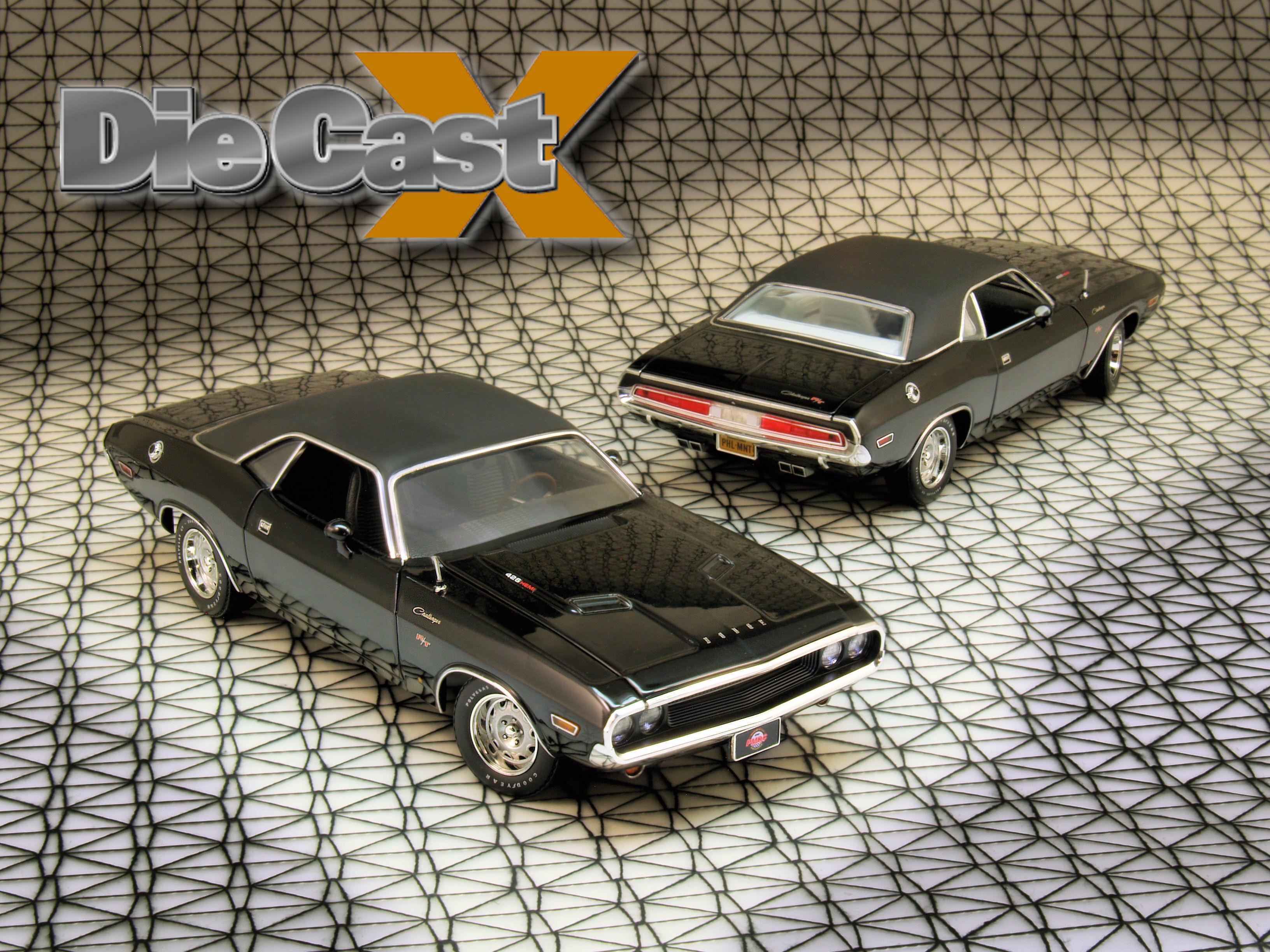 PhillyMint 1:24 1970 Hemi Challenger R/T: Basic, Black, and Badass