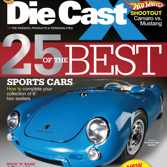 Die Cast X Fall 2011 Magazine On Sale Now.  Check out some pictures from the issue!