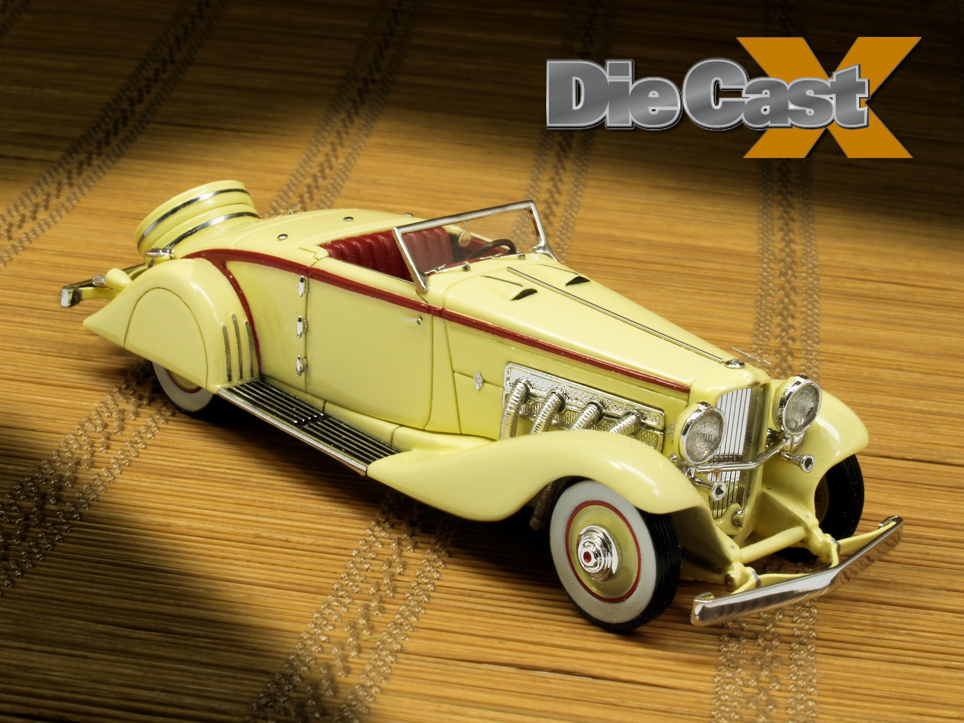 Stylish Cars 1:43 Duesenberg JN Convertible: Silver (plated) Spoon