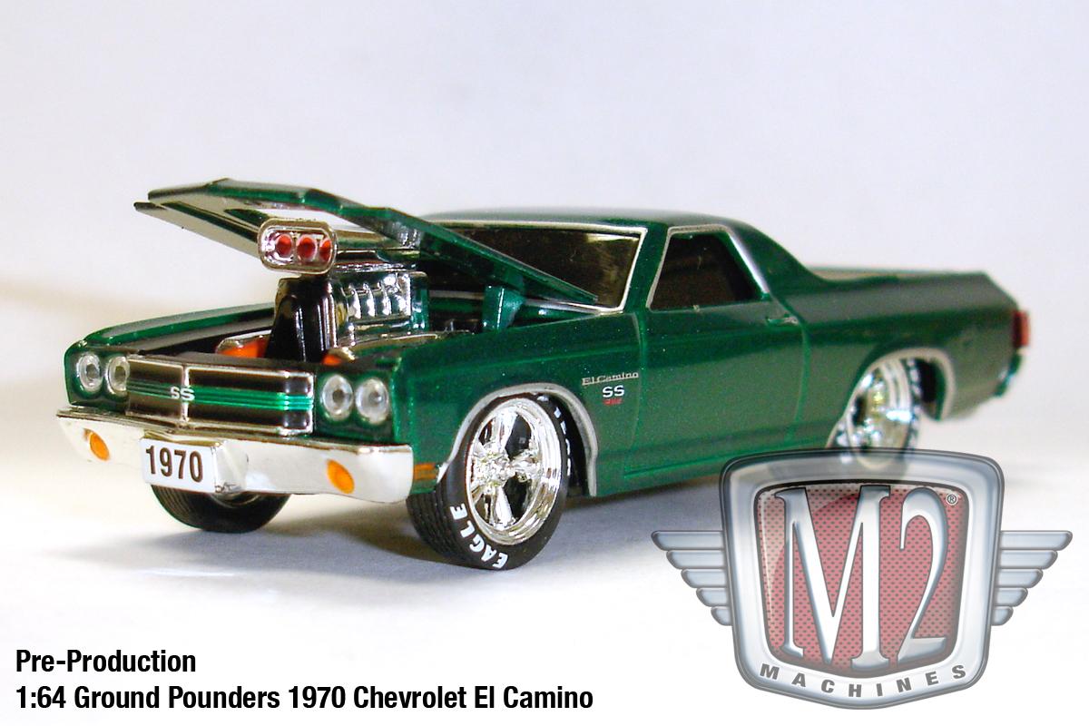 A Pre-Production Look at M2 Machines Chevy El Camino