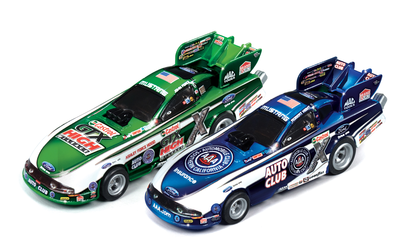 Auto World Announces New Slot Car Drag Strip Set