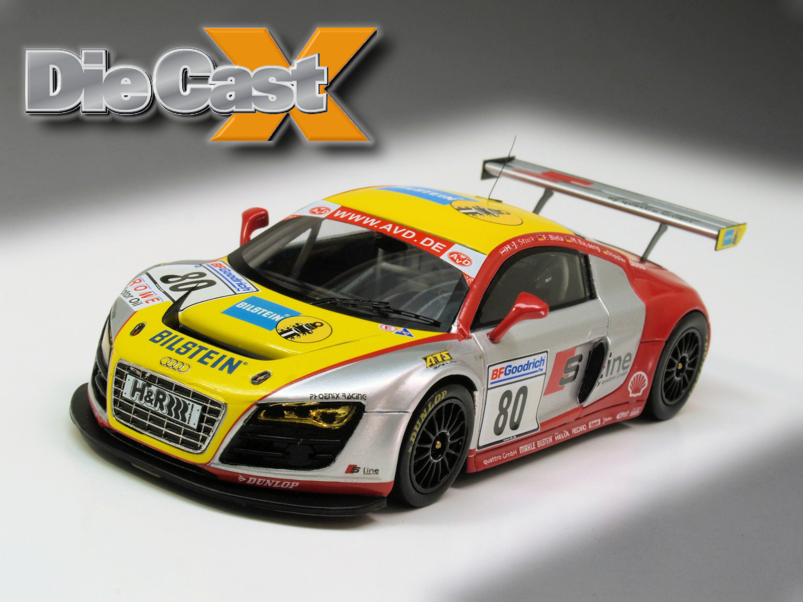 Minichamps' 1:43 Audi R8 LMS: Phoenix, Risen