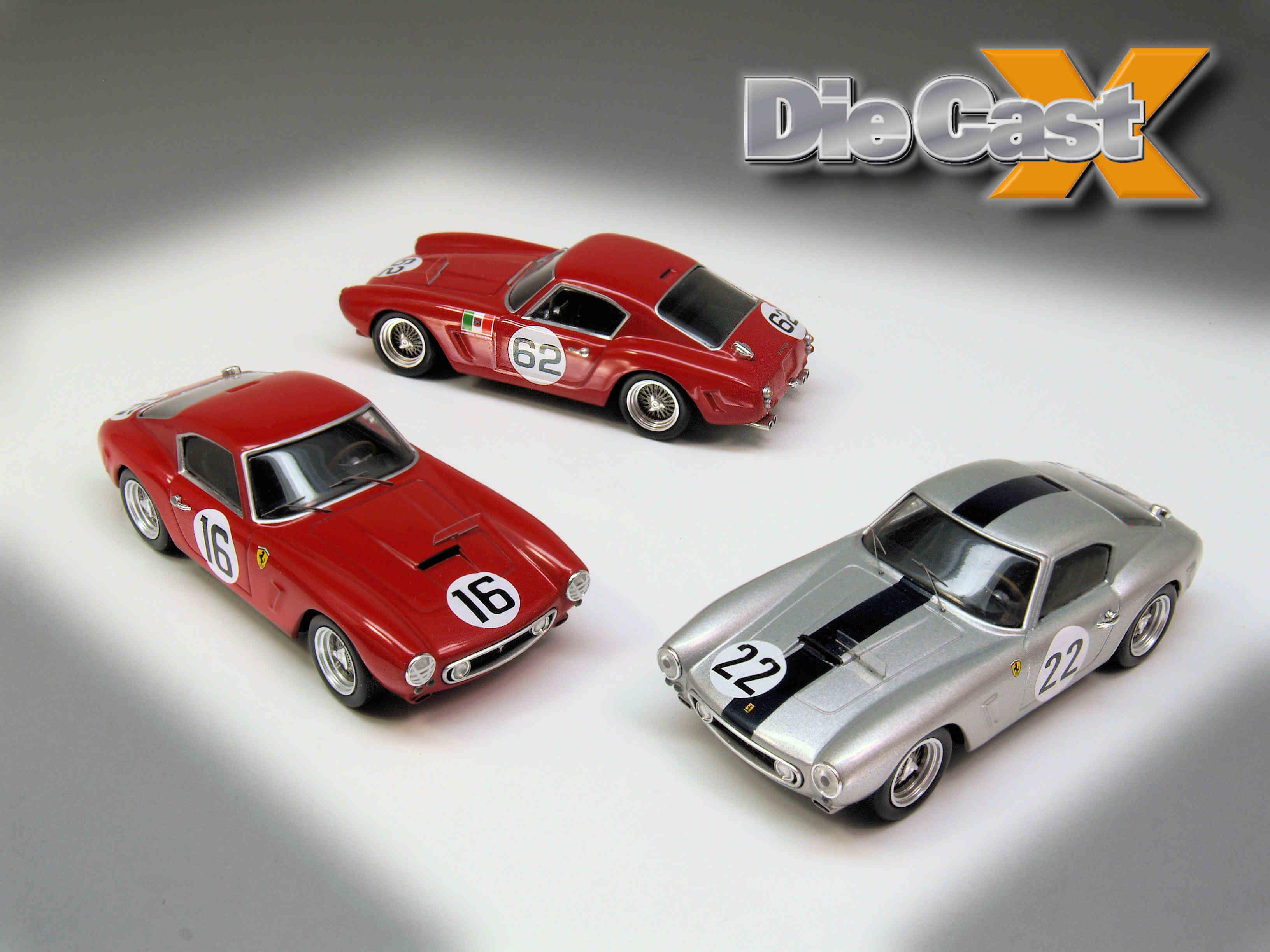 Hot Wheels Elite 1:43 Ferrari 250GT SWBs: Power Trio