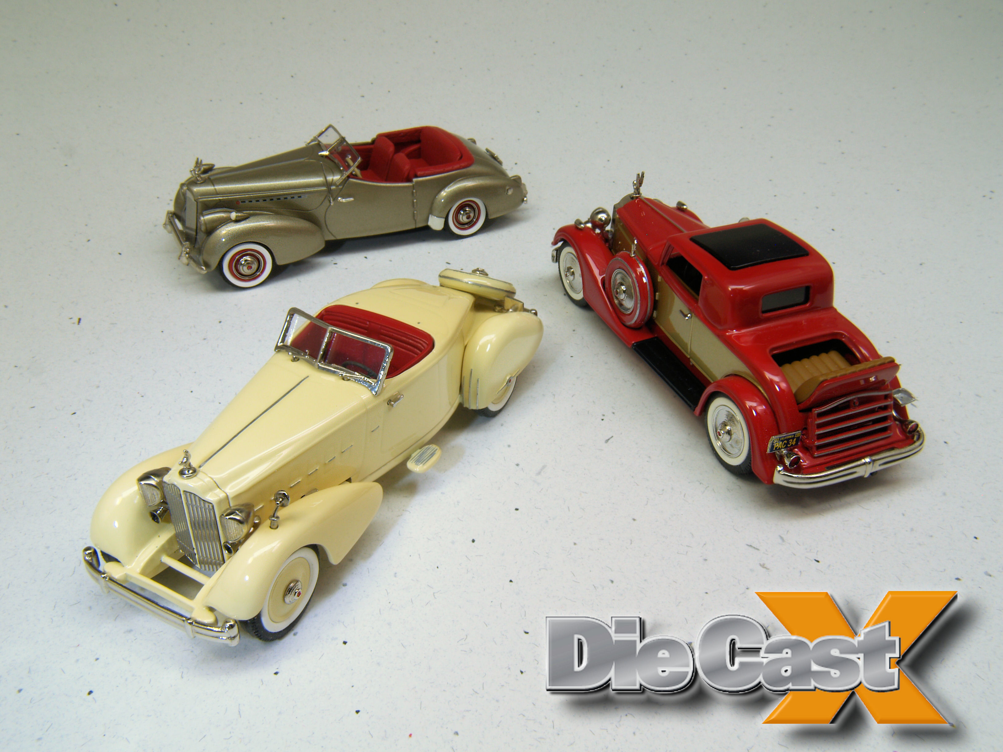 MiniMarque 1:43 Packards: Sweet and Elite
