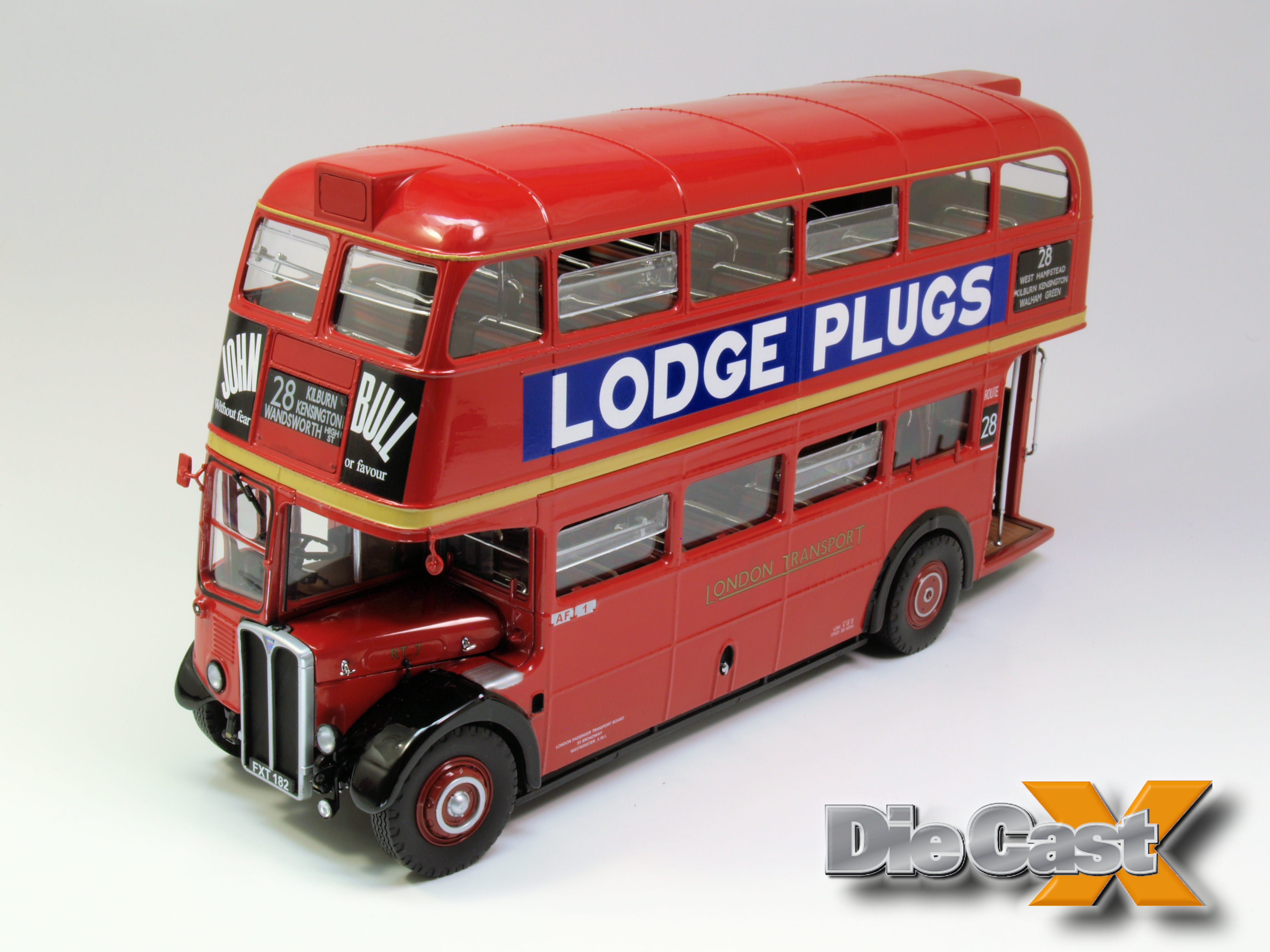Sunstar 1:24 AEC Regent Bus: Double Decker Fun