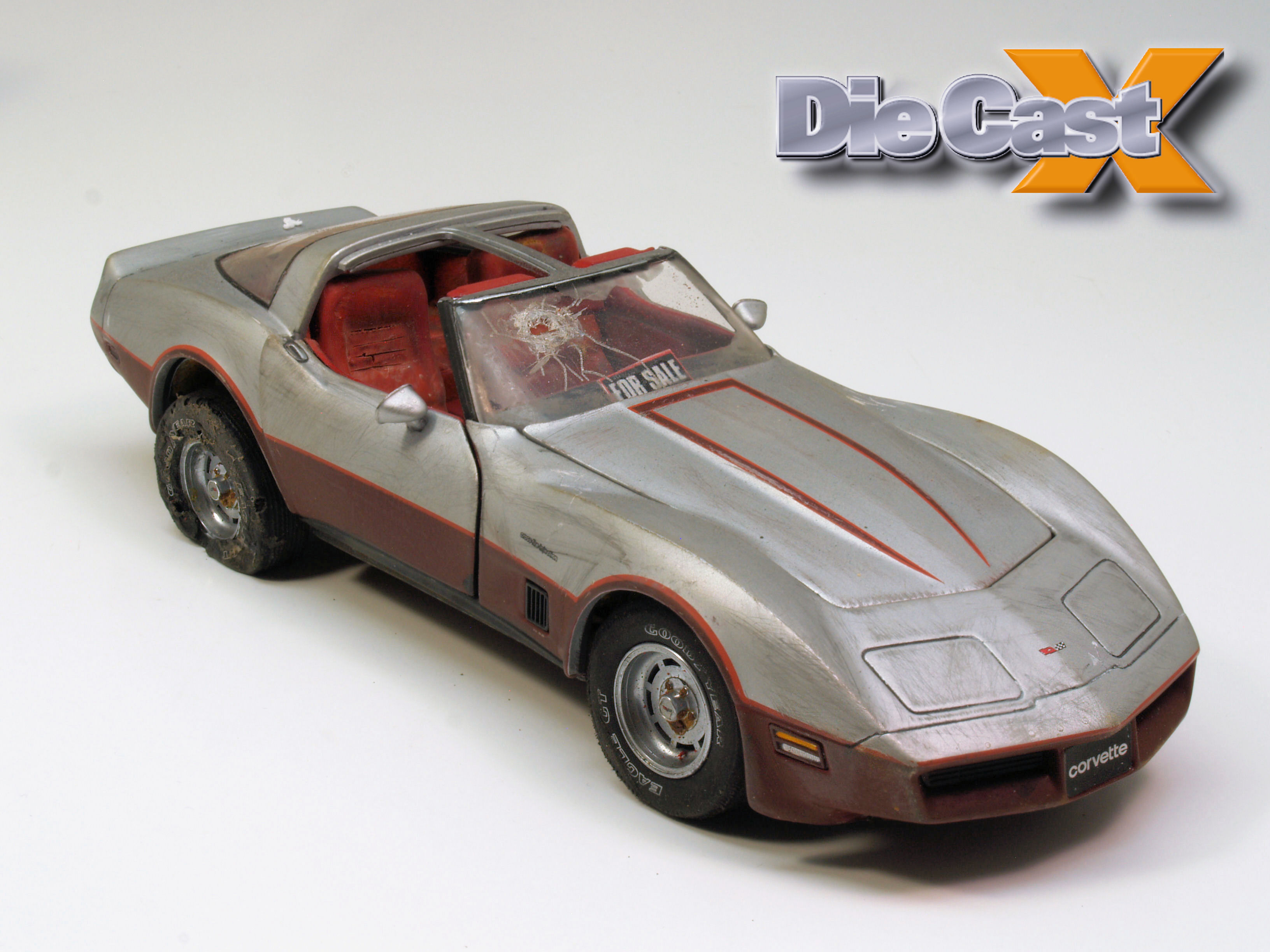 "Diecast Reproductions' 1:24 ""Junker"" Corvette: One Man's Trash…"