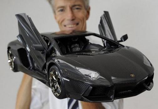 $4.8 Million Dollar Lamborghini – and it's a 1:8 scale model!