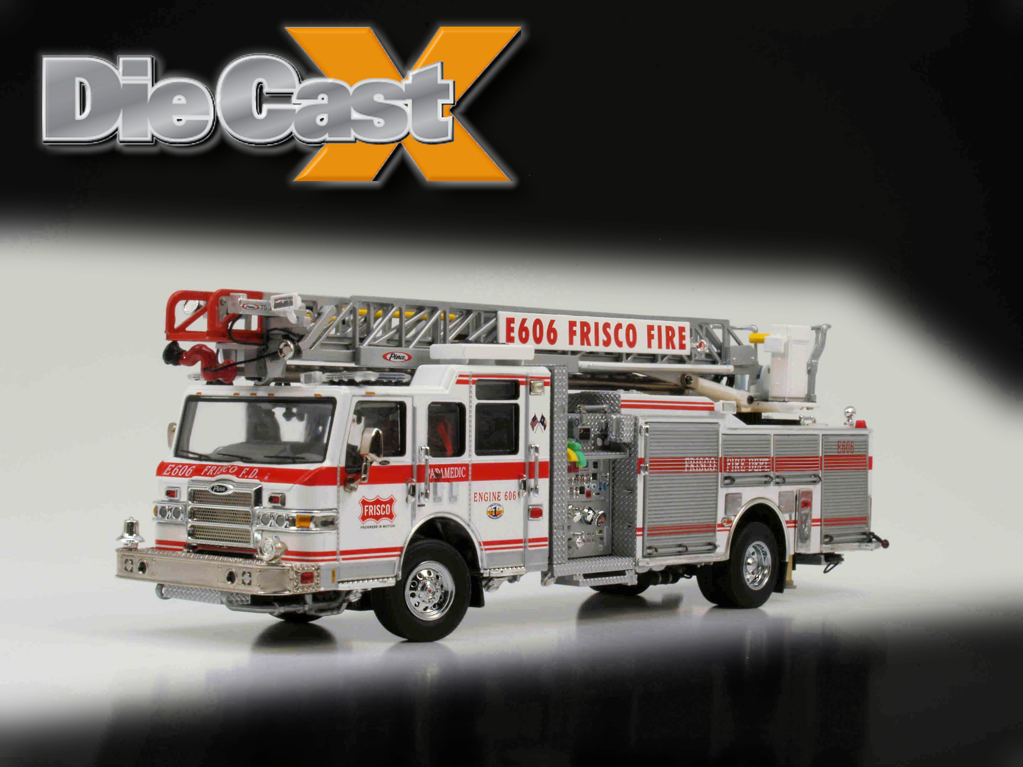 "TWH 1:50 Pierce Velocity 75′ HAL ""Frisco Fire Department"": The High Life"