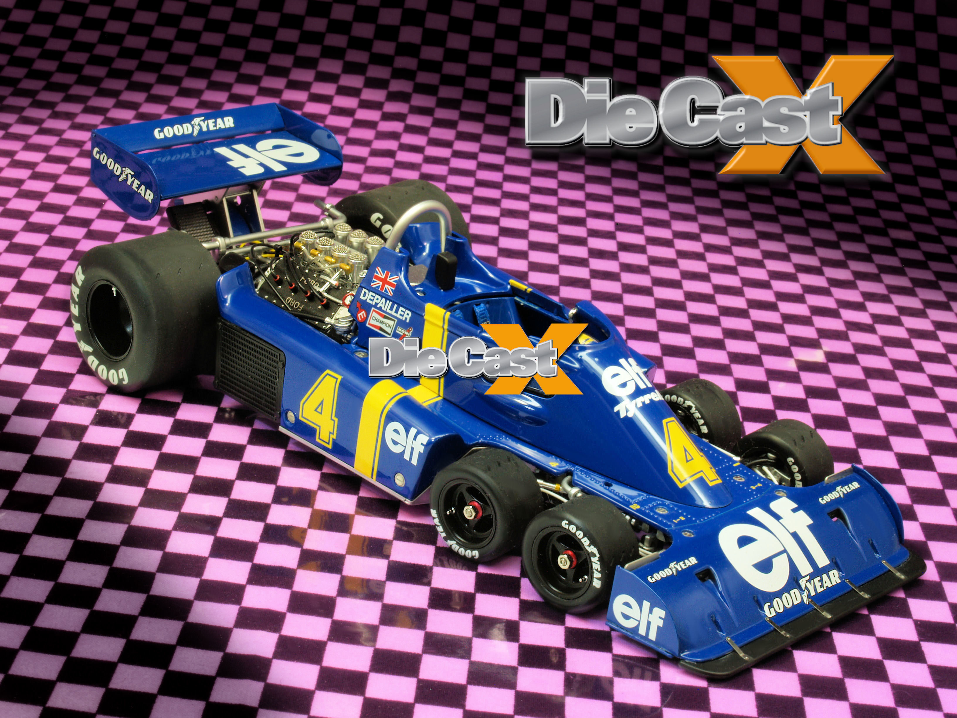 TrueScale Miniatures 1:18 Tyrrell P34s: The Odd Get Even