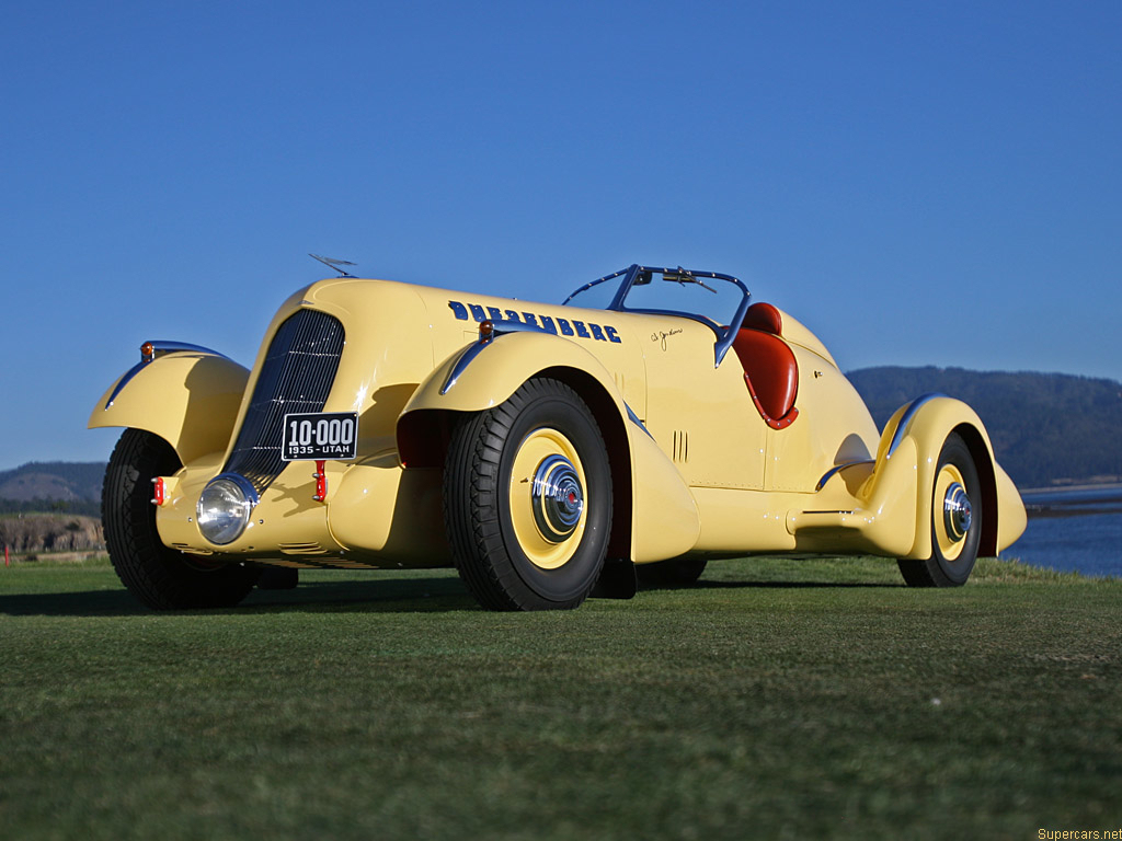 "Tin Wizard Announces 1:43 Duesenberg SJ ""Mormon Meteor"" for Holiday 2011"
